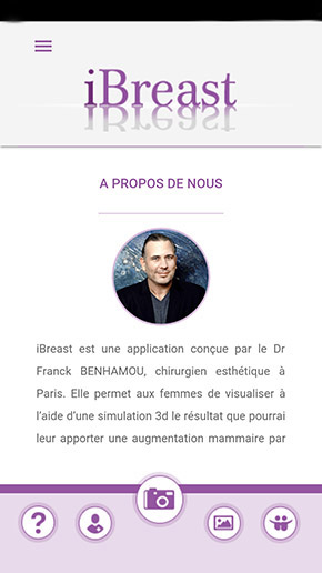 application iBreast