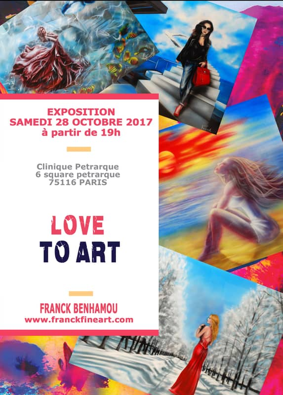 Exposition LOVE TO ART - Franck Benhamou